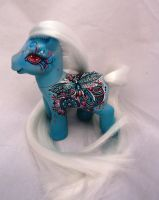 My little pony custom  henna Mahesa by AmbarJulieta