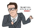 Iron Man 2's Justin Hammer by Agent-Jin