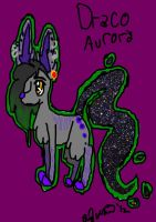 Draco Aurora by XRadioactive-FrizzX