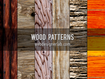 Wood Patterns by xara24