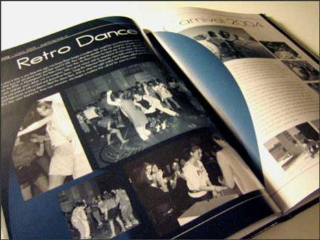 Yearbook page by alicia-lee