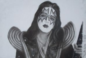 Ace Frehley 2 by Jess-MacGowan