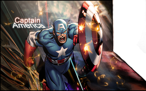 Captain America (Perspective) by Akashishere