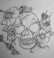 Love Skull by ashleapoole
