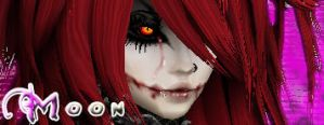 Moon Cry Banner by Dragonrose247