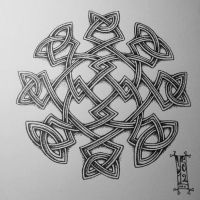 Pointed Knotwork by Myandra
