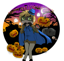 [Hetalia]  Happy Halloween 2013 by Mintleaf-99
