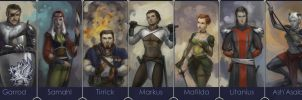 some characters by Alteya
