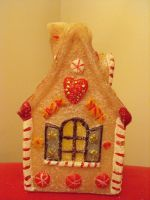 fairytale candy candle house by Feeriee13