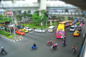 Miniature Traffic by Jupis