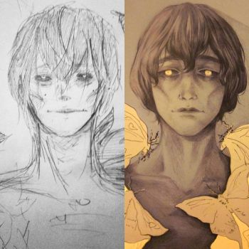 Before (2013) and After (2017) by RiceBalls4Me