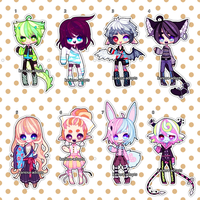 Tiny Adopts (closed) by Kariosa-Adopts