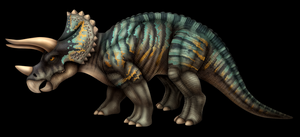 Triceratops- color by DragonosX