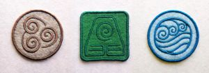 ATLA Element Bending Symbols Patches by TheHarley