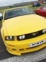 Ards Festival of Speed - Yellow Mustang by a-murmuration