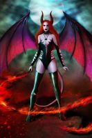 Miss Succubus by BrookeGillette