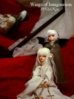 Wings of Imagination nro.1 by AKDoll