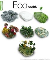 Archigraphs Eco health icons by Cyberella74