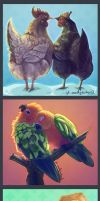 BIRDS by MadJesters1