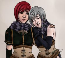 Nel and Clair by MelodicMadness