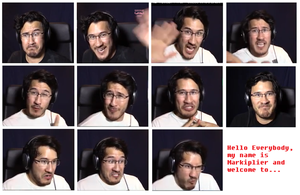 Collective Expressions of Markiplier by StarryScorchio4