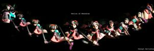 Motion of Momohime by hmongt