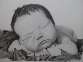 Baby Daxton by RickDouglasArt