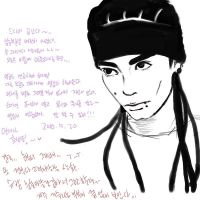 tom kaulitz tablet3 by yiyoung