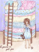 The princess and the pea by Tsuki-88400