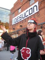 Pein at Desucon Summer 2012 by LittleChill