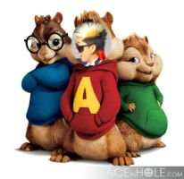 Dumbo and The Chipmunks by Ashley44598X