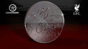 Liverpool FC Warrior Coin by kitster29