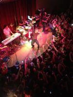 Aaron Carter at The Melting Point in Athens, GA by orxlen