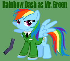 My Little Clue 4 - Rainbow Dash by Death-Driver-5000