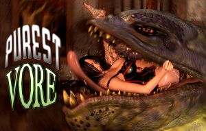 PUREST VORE BANNER CONTEST SUBMISSION by PerilComics
