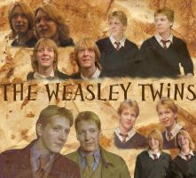 The Weasley Twins by singingpterodactyl