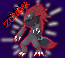 Zoroark by Ink-Leviathan