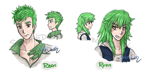 Reon 'n Ryon by 7thDeath