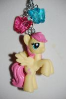 Fluttershy necklace by Coall