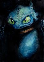 Toothless by BadVamp