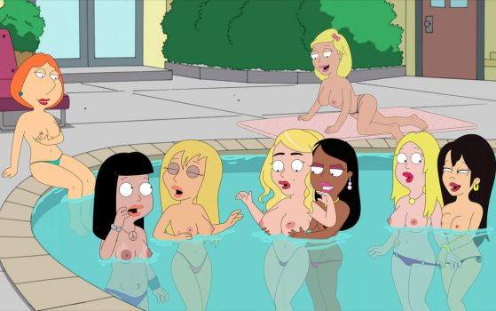 the girl from family guy be naked