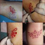 Zelda triforce scarification by TheChristOff