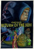 Return of the Jedi Poster by JediSeeker1