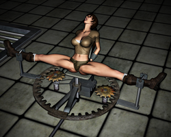Lara Croft in Peril: The Spreader 10 by FatalHolds