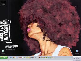 Erykah Badu Fro by yellabunny-muah