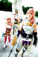 Serah - Dont leave me sister by SoraPaopu