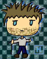 Chibi Gregory House by Terrami