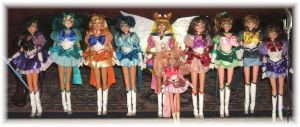 Eternal Sailor Soldiers Dolls by SetsunaKou