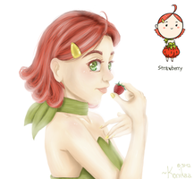 Strawberry by Konikaa