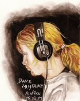 Dave. Headphones by Red-Szajn